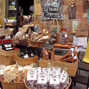 typical products in bolgheri