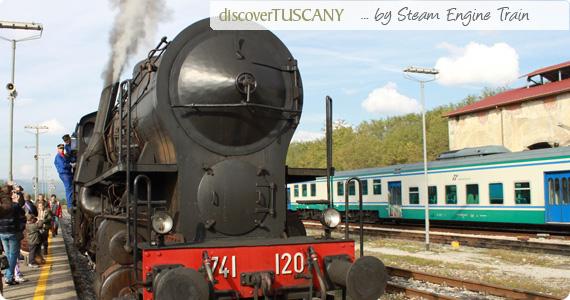 discover tuscany by steam engine trains