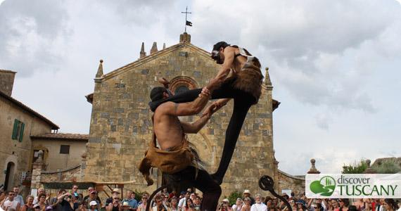 festa medievale monteriggioni