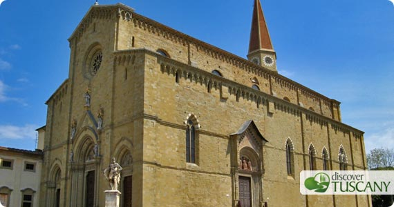 Arezzos Duomo, dedicated to San Donato
