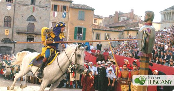 Arezzo saracen joust