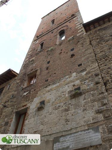 Torre di Arnolfo di Cambio in Colle Val d'Elsa