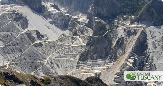 Marble Quarries near Carrara