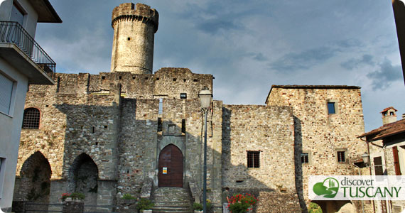 Lunigiana is the Land of Castles: this is the Castle of Malgrate