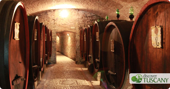 Chianti wine cellars