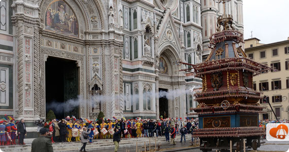 Easter in Florence - Scoppio del Carro