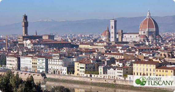 Vista panoramica da Piazzale Michelangelo