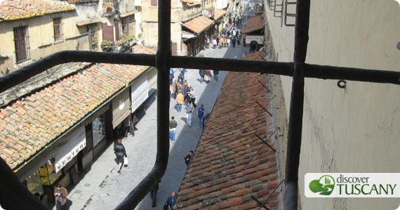The Vasari Corridor in Florence