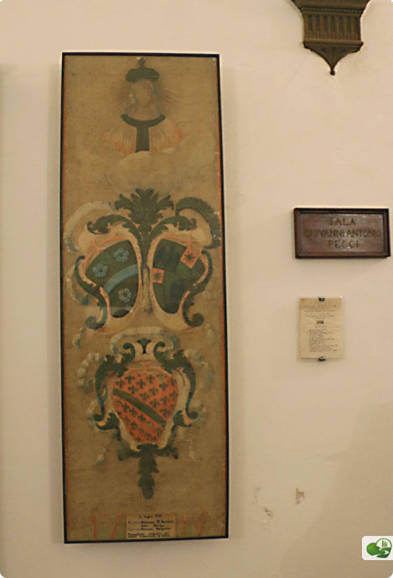 Oldest Palio Banner that exists today is from 1719