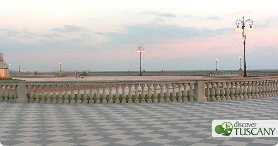 Mascagni Terrace in Livorno