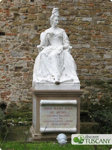 Anna Maria Luisa de Medici, last of the Medici dynasty