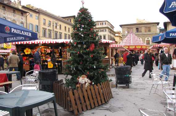 Christmas Market in Santa Croce Square