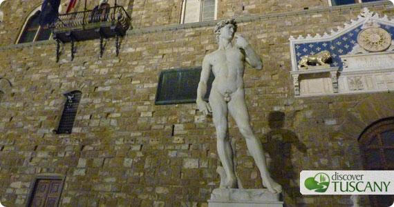 Palazzo Vecchio di notte