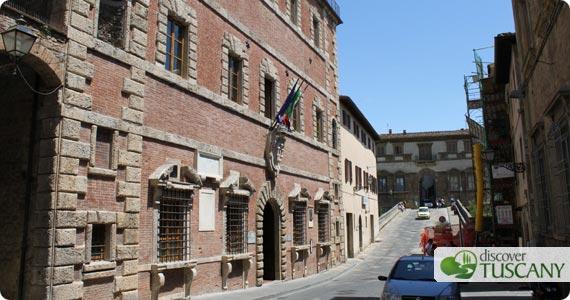 Renieri Portigiani Palace in Colle Val d' Elsa