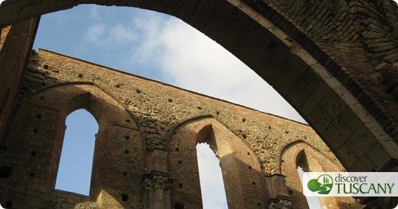 roof of San Galgano Abbey