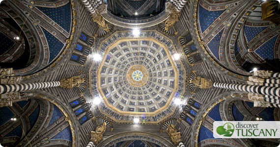 Cathedral's dome from below