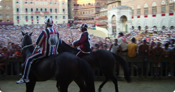 palio di siena august 2009