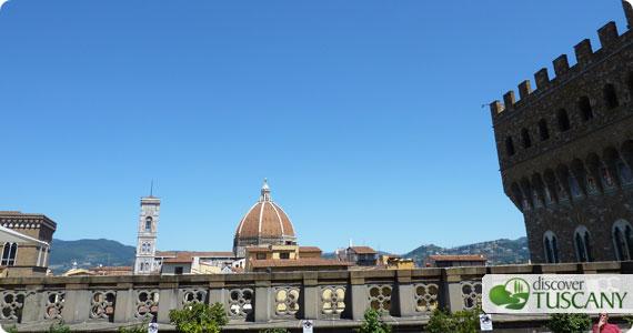 Terrace at the Uffizi