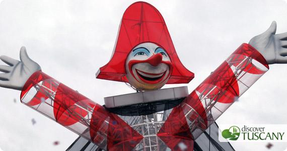 Il Burlamacco - la maschera ufficiale del Carnevale di Viareggio
