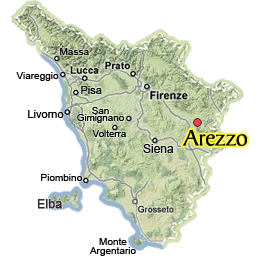 Arezzo Italy Map Visit Arezzo:Discover Arezzo in Tuscany, Italy