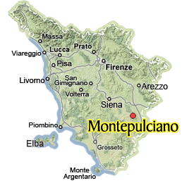 Visit Montepulciano:Guide of Montepulciano in Valdorcia, Tuscany
