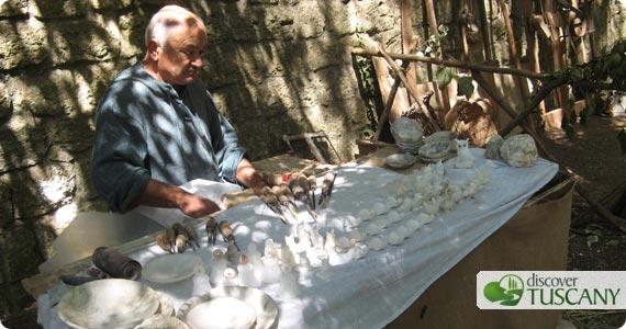 Volterra: Alabaster Handicrafts