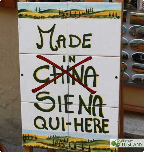Orgogliosamente Made in Siena