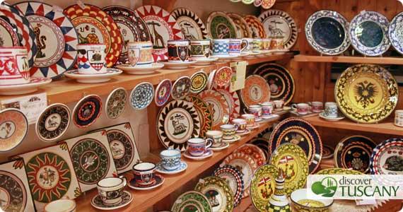 Ceramiche delle contrade di Siena