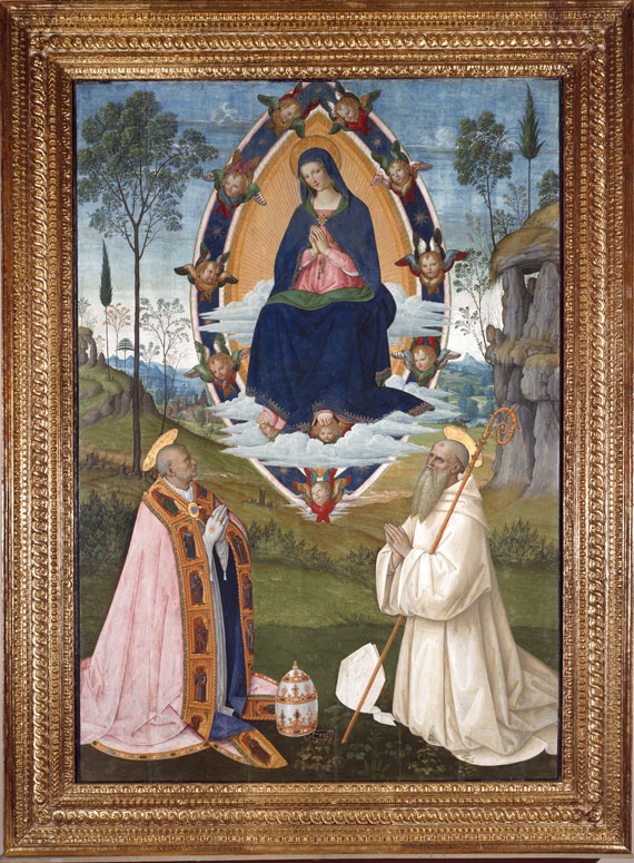 The Assumption of the Virgin of Pintoricchio