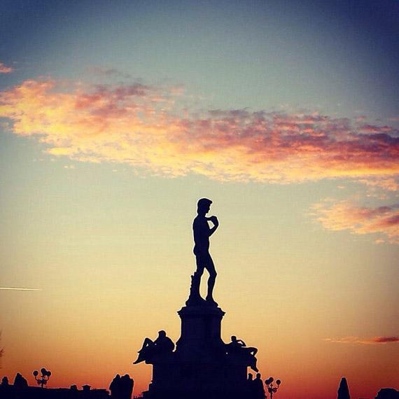 Piazzale Michelangelo al tramonto - photo credit @ingrid__83