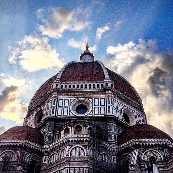 Il Duomo di Firenze in tutta la sua maestosità - photo credit @shavrikova