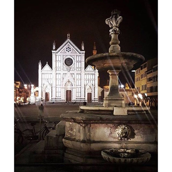 La Basilica di Santa Croce - photo credit @hashtagitaly