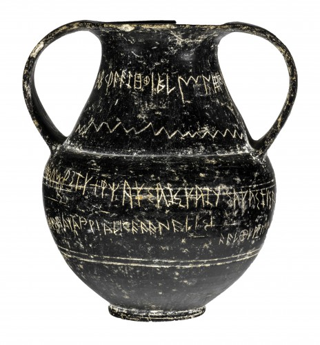 Etruscan discoveries and exhibitions in Tuscany