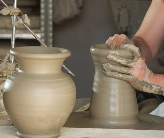 ceramics making