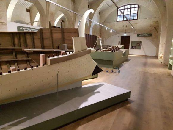 Arsenali Medicei, Museum of Antique Boats in Pisa