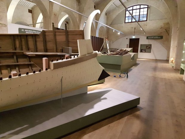 Arsenali Medicei, Museum of Antique Boats in Pisa