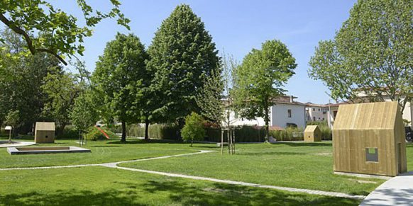 Green parks and beautiful monuments in Pistoia