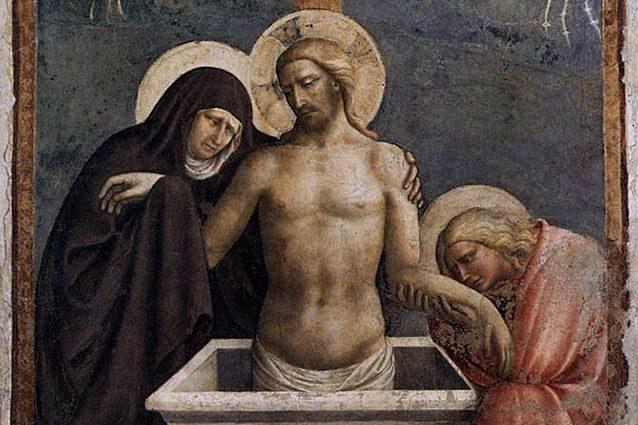 Palazzo Strozzi: Bill Viola & Pietà di Masolini