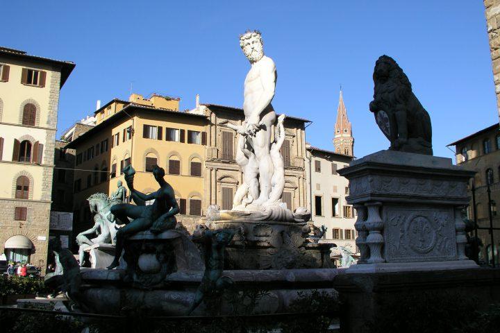 Fontana del Nettuno in Piazza Signoria
