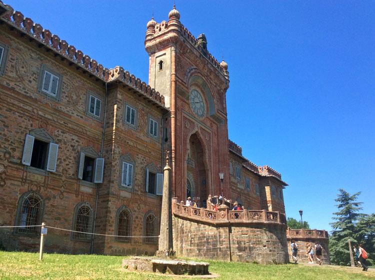 Castello di Sammezzano: about 30 km from Florence, italy