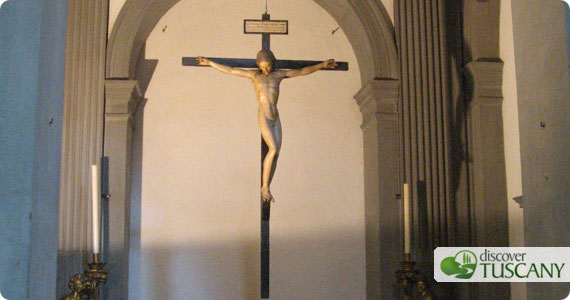 michelangelo's crucifix